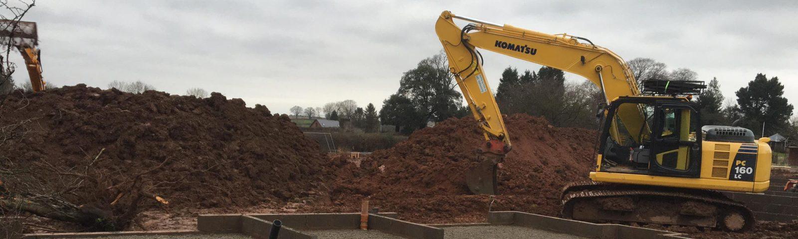 Komatsu Digger - Plant and Operator Hire